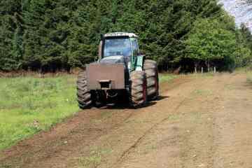 Préparation du terrain par broyage de surface