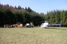 Chaulage par voie aérienne, une solution pour les terrains difficiles d'accès